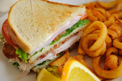 Sandwich, Fries
