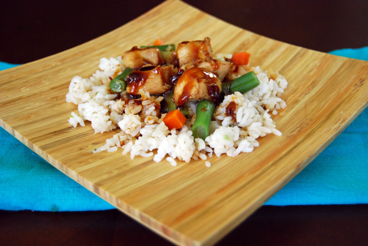 Spicy Ginger Chicken and Vegetables