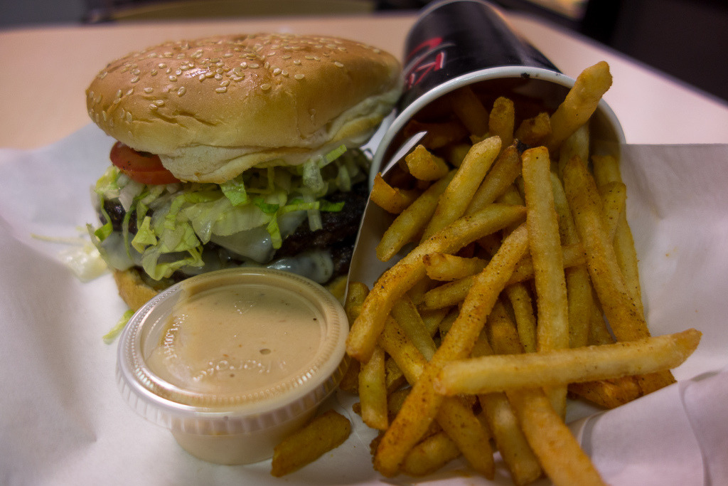Burger & Fries