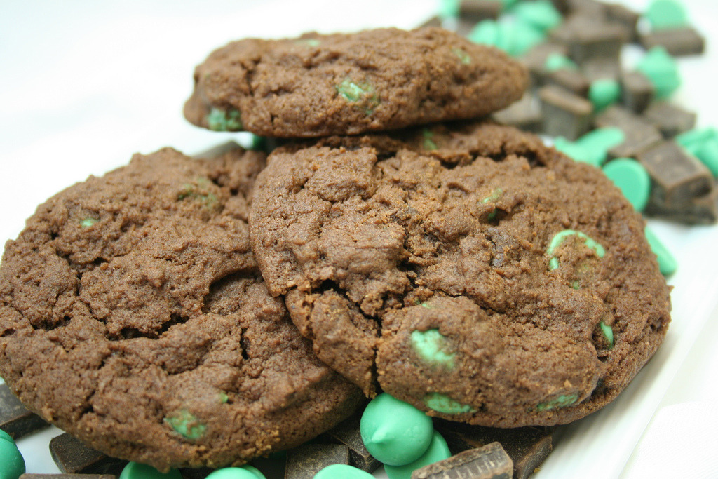 Coco Mint Cookies