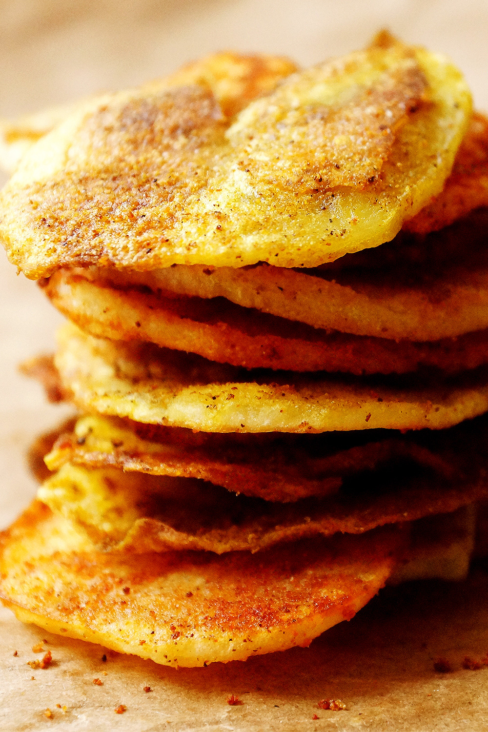 (via Oven Baked Potato Chips Divine Healthy Food)