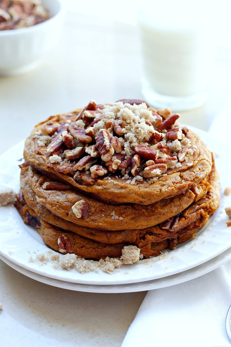 Pumpkin Brown Sugar Pancakes