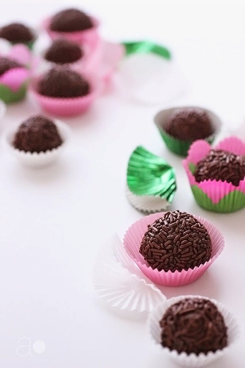 Brigadeiros (Brazilian Truffles) Ambrosia on We Heart It.