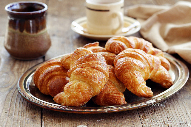 Croissant by nguoiyeuamthuc on Flickr.