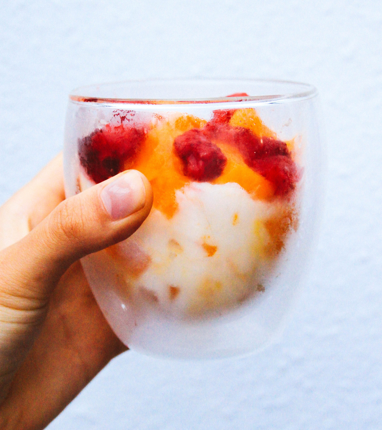 The perfect breakfast frozen yogurt