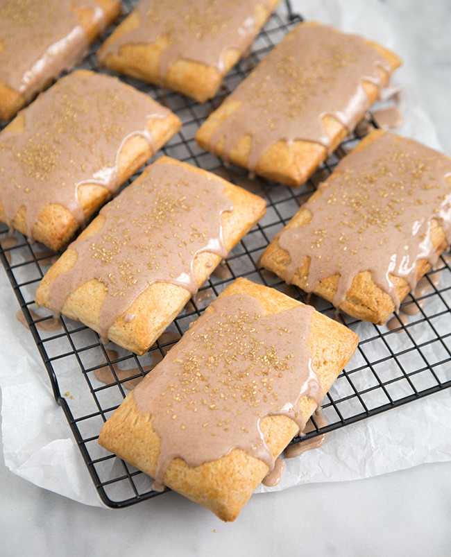Apple Cinnamon Pop Tarts The Little Epicurean